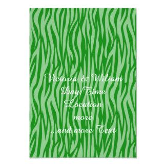 estampado de animales abstracto, verde anuncio
