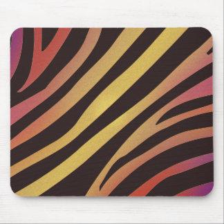 Estampado de animales colorido del tigre alfombrilla de ratón