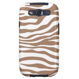 Estampado de animales de la cebra de Chamoisee Samsung Galaxy S3 Coberturas