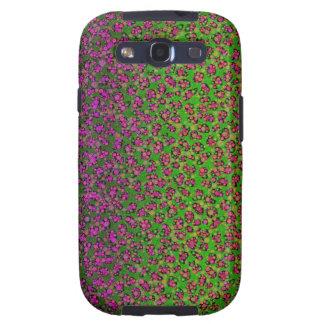 Estampado de animales impreso fluorescente de galaxy s3 funda