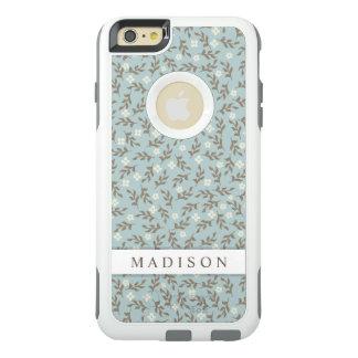 Estampado de flores elegante bonito del vintage funda otterbox para iPhone 6/6s plus