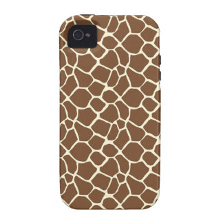 Estampado de girafa vibe iPhone 4 carcasa