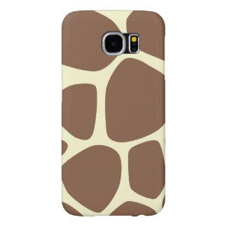 Estampado de girafa, modelo de la jirafa - funda samsung galaxy s6