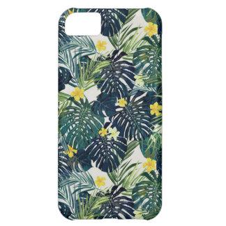 Estampado de plores tropical funda para iPhone 5C