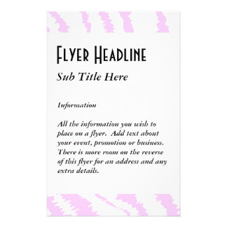Estampado de zebra rosado, modelo animal tarjetas publicitarias