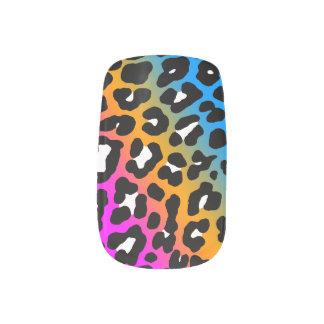 Estampado leopardo del neón del tigre 80s de Corey