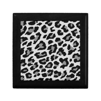 estampado leopardo joyero