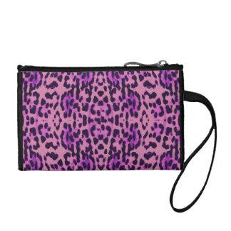 Estampado leopardo monedero