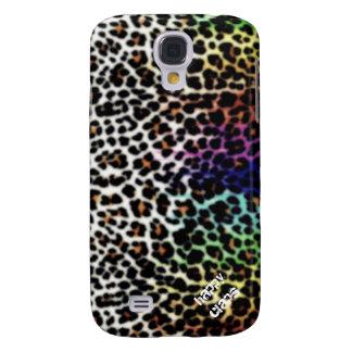 Estampado leopardo samsung galaxy s4 cover