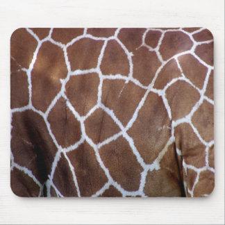 Estampados de girafa, piel alfombrilla de ratón