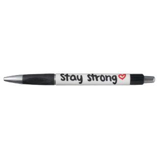 estancia <3 fuerte bolígrafo