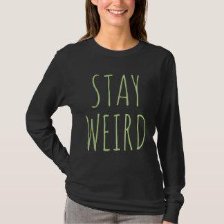 Estancia extraña camiseta