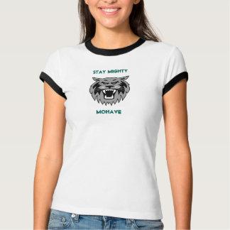 ¡Estancia poderosa! La camiseta de las mujeres