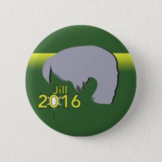 Estándar, 2 gráfico redondo de Jill 2016 del botón