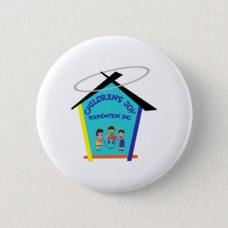 Estándar de CJFI, botón redondo de la pulgada de 2