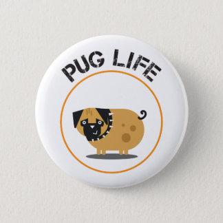 Estándar de la vida del barro amasado, botón