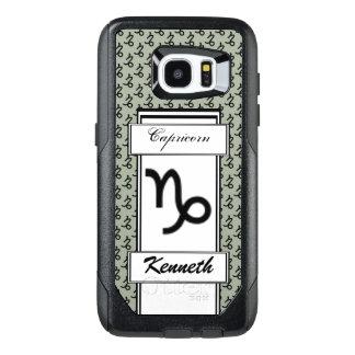 Estándar del símbolo del zodiaco del Capricornio Funda OtterBox Para Samsung Galaxy S7 Edge