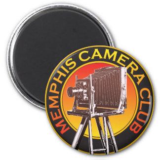 Estándar, imán redondo del logotipo de la cámara
