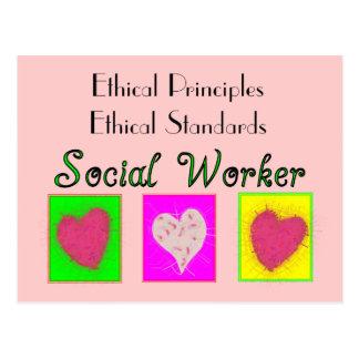 Estándares Principio-Éticos éticos del asistente Postal
