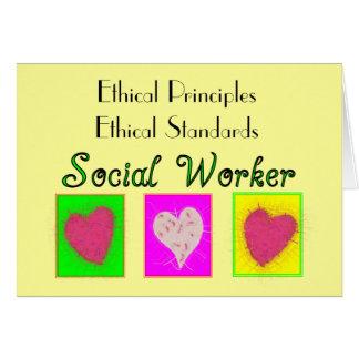 Estándares Principio-Éticos éticos del asistente s Tarjeta De Felicitación