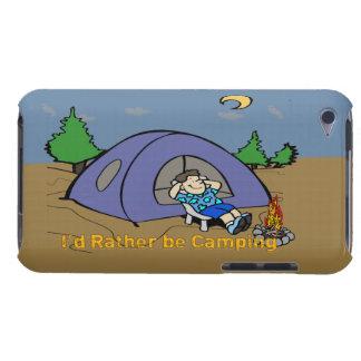 Estaría acampando bastante - caso del tacto de iPo iPod Touch Case-Mate Carcasa