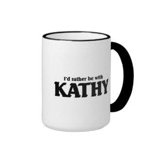 Estaría bastante con Kathy Taza De Dos Colores