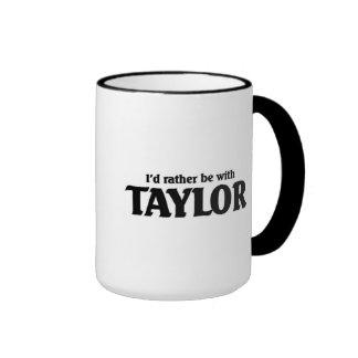 Estaría bastante con Taylor Taza De Dos Colores