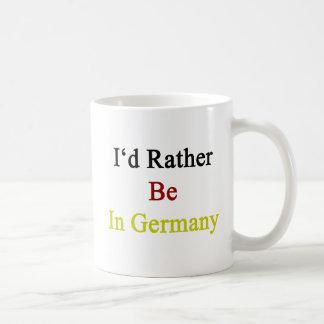 Estaría bastante en Alemania Taza De Café