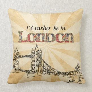Estaría bastante en almohada de tiro de Londres