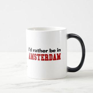 Estaría bastante en Amsterdam Taza