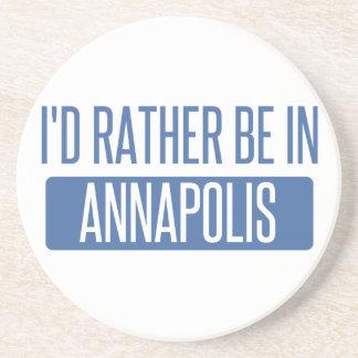 Estaría bastante en Annapolis Posavasos Diseño