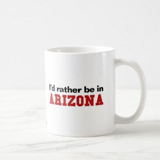 Estaría bastante en Arizona Tazas De Café