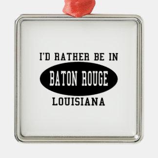 Estaría bastante en Baton Rouge Ornatos