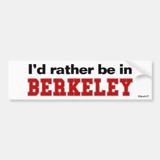Estaría bastante en Berkeley Pegatina Para Coche