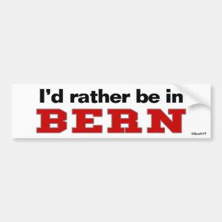 Estaría bastante en Berna Pegatina Para Coche