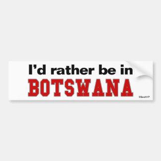 Estaría bastante en Botswana Pegatina Para Coche
