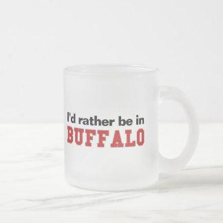 Estaría bastante en búfalo taza cristal mate