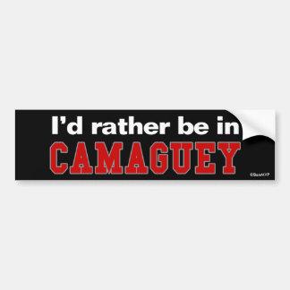 Estaría bastante en Camagüey Pegatina Para Coche