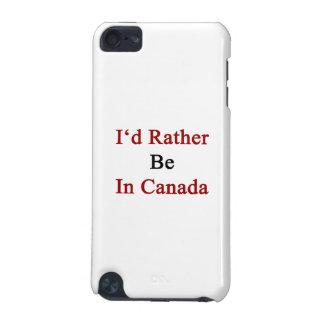 Estaría bastante en Canadá