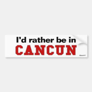 Estaría bastante en Cancun Pegatina Para Coche