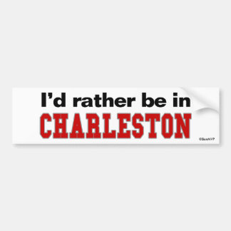 Estaría bastante en Charleston Pegatina Para Coche