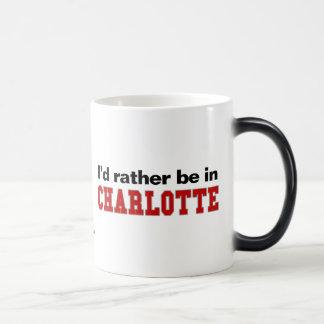 Estaría bastante en Charlotte Taza Mágica