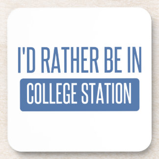 Estaría bastante en College Station Posavasos De Bebidas