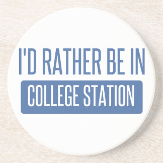 Estaría bastante en College Station Posavasos Manualidades