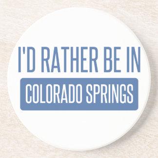 Estaría bastante en Colorado Springs Posavasos Manualidades