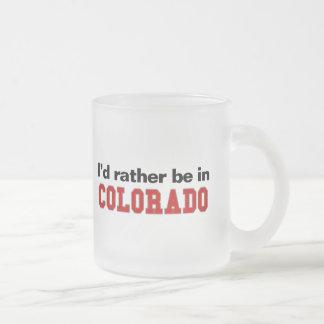 Estaría bastante en Colorado Taza De Café