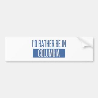 Estaría bastante en Columbia MES Pegatina Para Coche