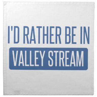 Estaría bastante en corriente del valle servilleta de tela