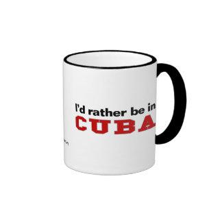 Estaría bastante en Cuba Tazas De Café