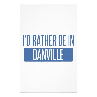 Estaría bastante en Danville VA Papelería De Diseño